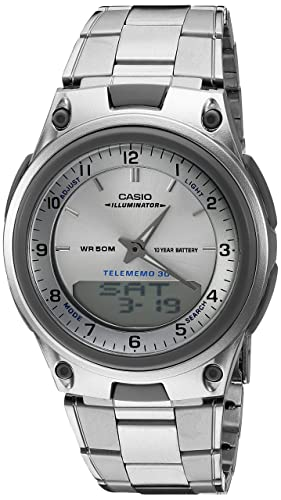 Casio Mens AW80D-7A Sports Chronograph Alarm 10-Year Battery Databank Watch