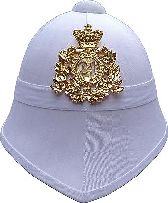 139c70b51328d British Pith Helmet 24th Regiment of Foot - White