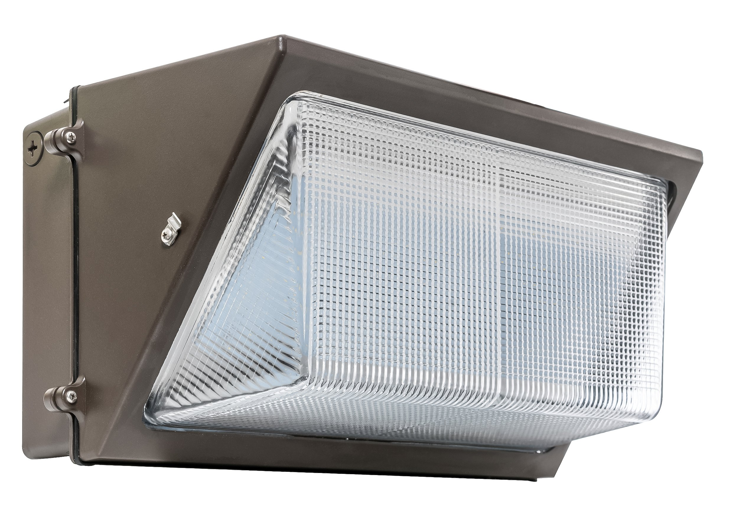 Westgate LED Wall Pack Fixture - Outdoor Security Wall Light for Area, Yard, Parking - Commercial Grade Industrial Quality HPS/HID Replacement - IP65 Waterproof (120 Watt, 4000K Neutral White)