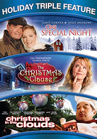 The Christmas Clause.Amazon Com Holiday Triple Feature One Special Night