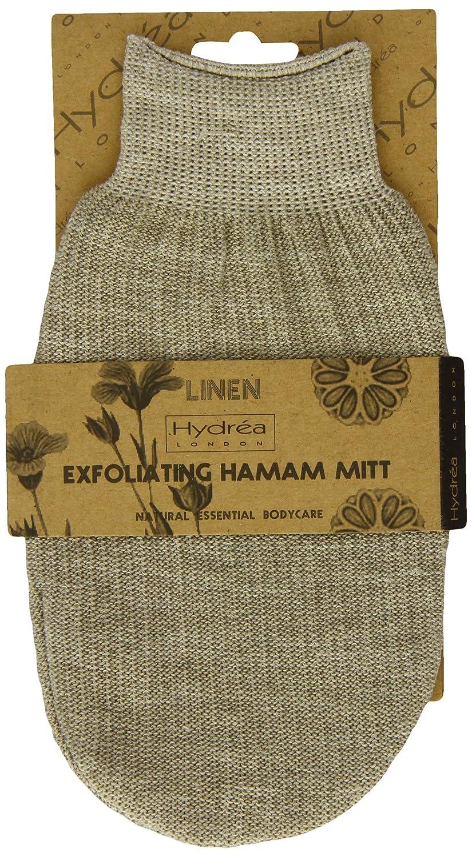Guante de lino para Spa hammam, baño de guante exfoliante Hydrea London MT10