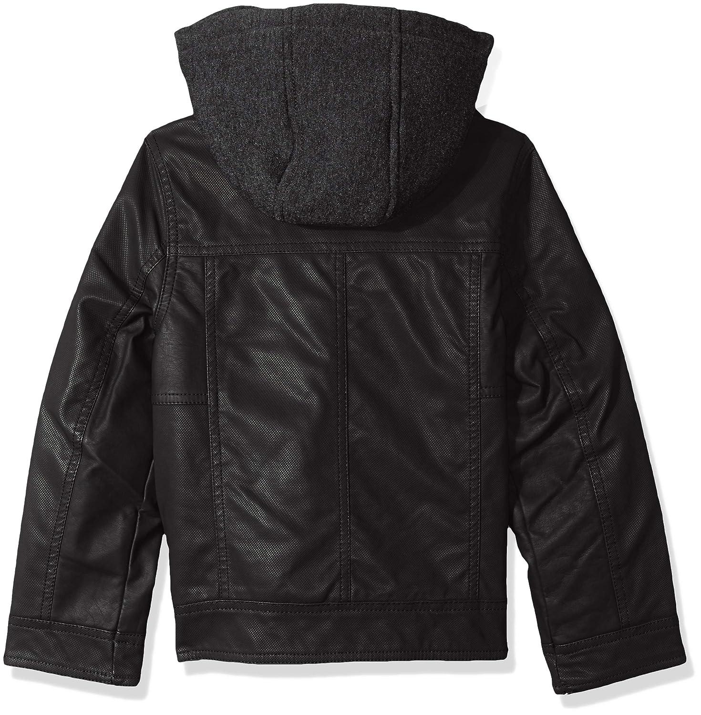 Urban Republic Boys Textured Pu Jacket