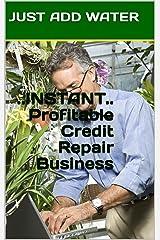 Instant Profitable Credit Repair Business Kindle Edition