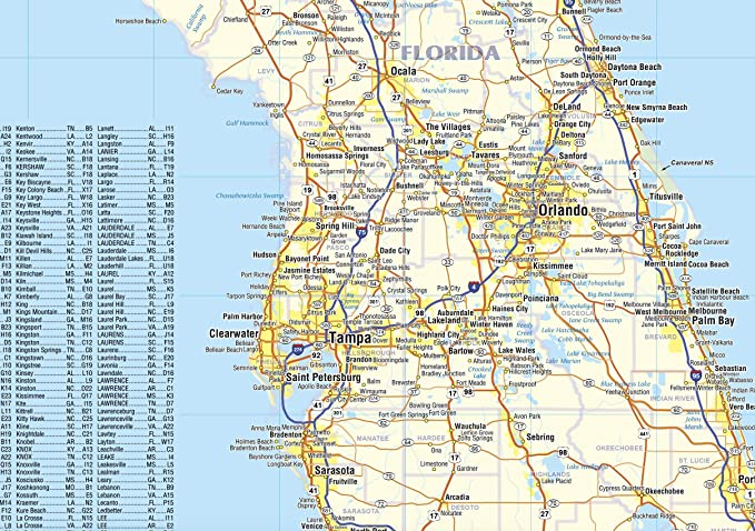 Amazon.com : Southeastern United States Laminated Wall Map ... on map of southeast texas, map of usa, driving map of united states, map of southwest united states, map of tennessee, topographical map of united states, map of southeast us, map of east coast united states, map of north carolina, map of mideast united states, map of the southeast, printable map of united states, map of the united states, map of south mississippi, map of california, large map of united states, political map of united states, capitals of the united states, map of alabama, map of contiguous united states,