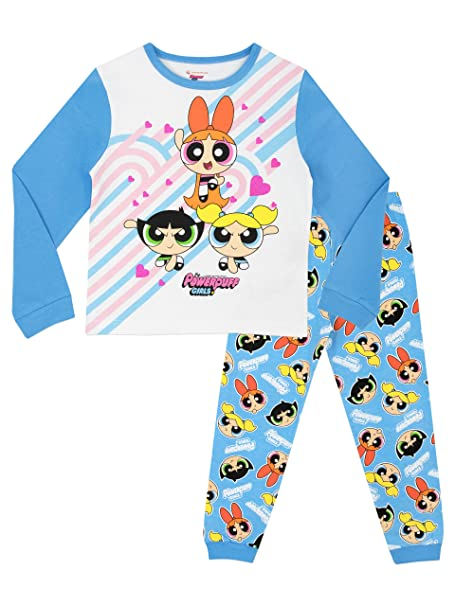Powerpuff Girls - Pijama para niñas - Power Puff - 10 - 11 Años