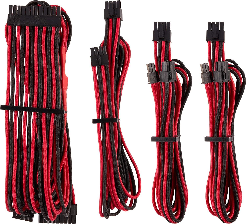 Corsair Type 3 Flat 24pin ATX modular Cable 14+10 pin to 20+4 pin RM AXi