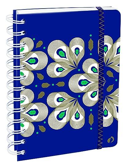 Agenda Escolar con espirales 1 Día/Página 2019-2020 Ethnik, 12x17cm, diseño Wax