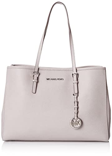 22646dd2506a Michael Kors JET SET Tote Pearl Grey Genuine Leather: Handbags ...