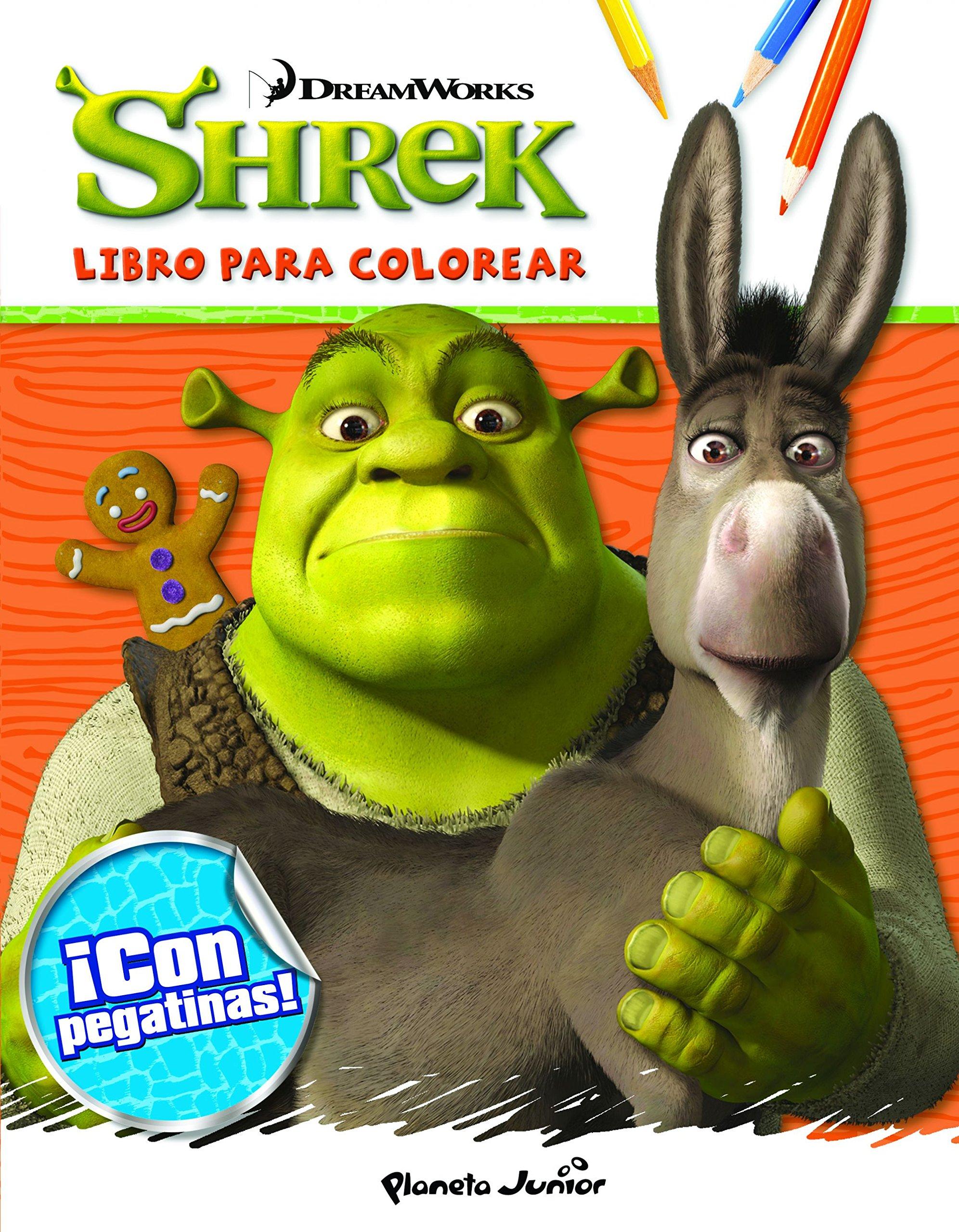 Shrek. Libro para colorear (Spanish) Paperback – 2015