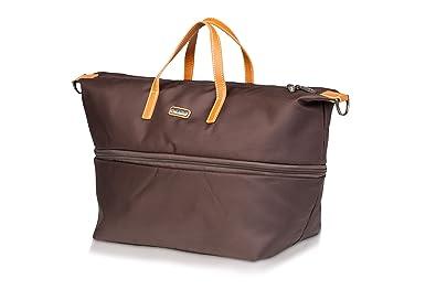 171a63d797ec Melvin Expandable Handbag Extérieur en polyester 100% avec des lanières de  cuir grande