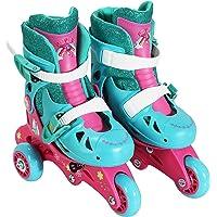 PlayWheels Trolls Kids Convertible 2-in-1 Skates - Junior Size 6-9 by PlayWheels