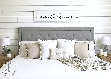 Amazon.com: WoodenSign sweet dreams sign master bedroom sign bedroom ...