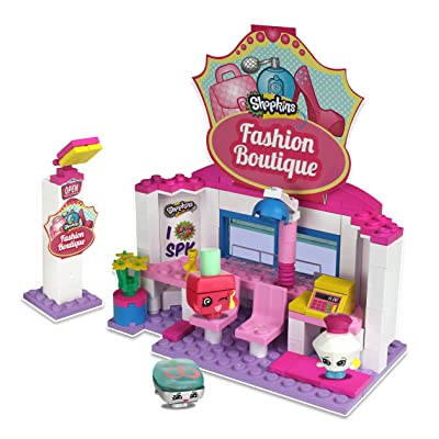 The Bridge Direct Shopkins Kinstructions Fashion Boutique: Toys & Games