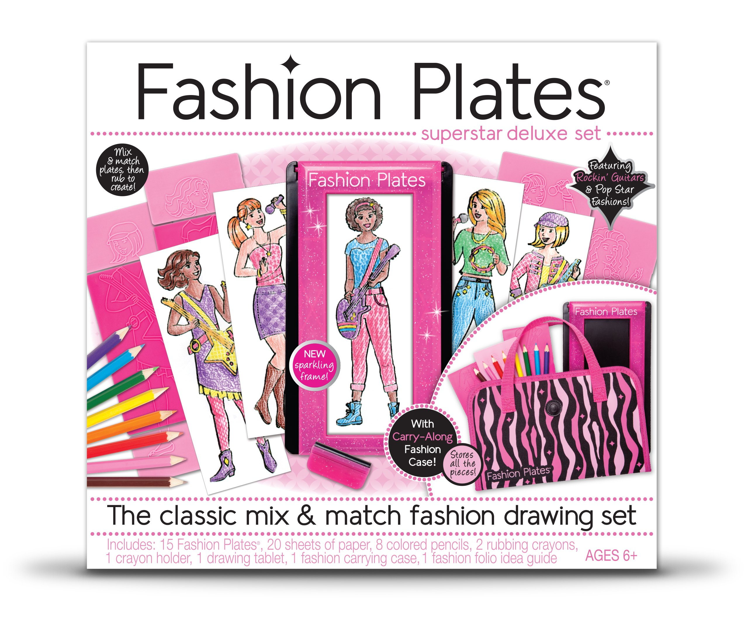 kahootz fashion plates super star deluxe kit - Best Christmas Gifts For Boys