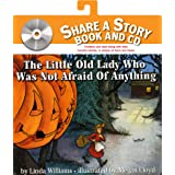 The Little Old Lady Who Was Not Afraid of Anything Book and CD (Share a Story)