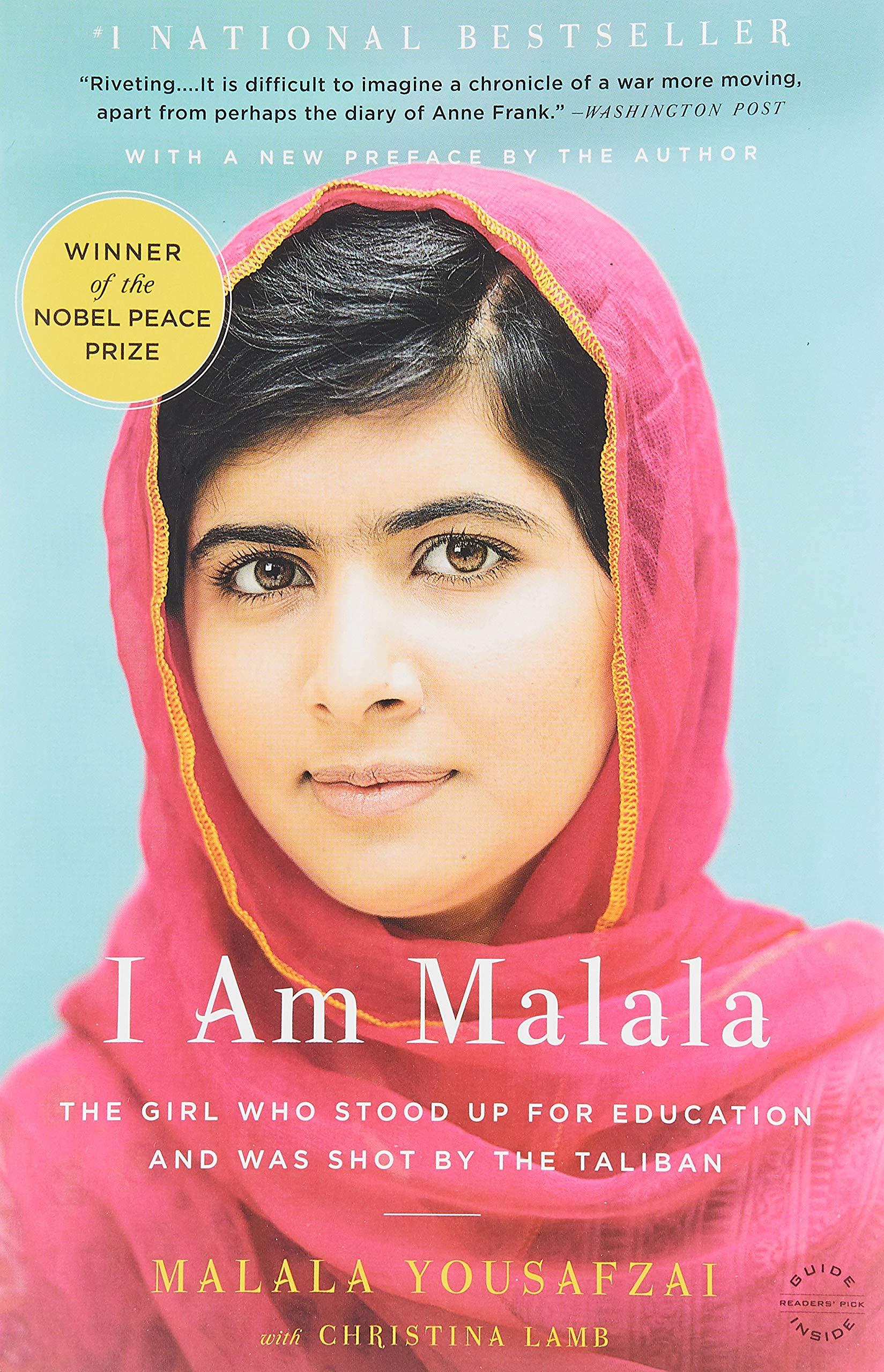 I Am Malala: The Girl Who Stood Up for Education and Was Shot by the Taliban: Yousafzai, Malala, Lamb, Christina: 0884340159730: Amazon.com: Books