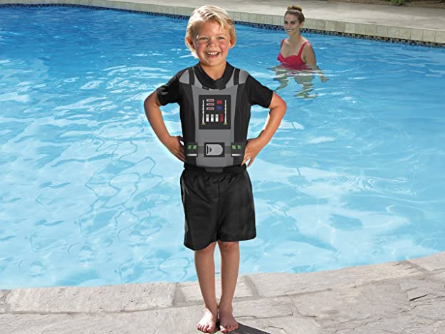 Amazon.com: SwimWays Deluxe Float Shorty, Star Wars, Medium/Large: Toys & Games