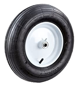 Tricam Farm and Ranch FR2210 Pneumatic Replacement Tire for Wheelbarrows and Utility Carts, 16-Inch