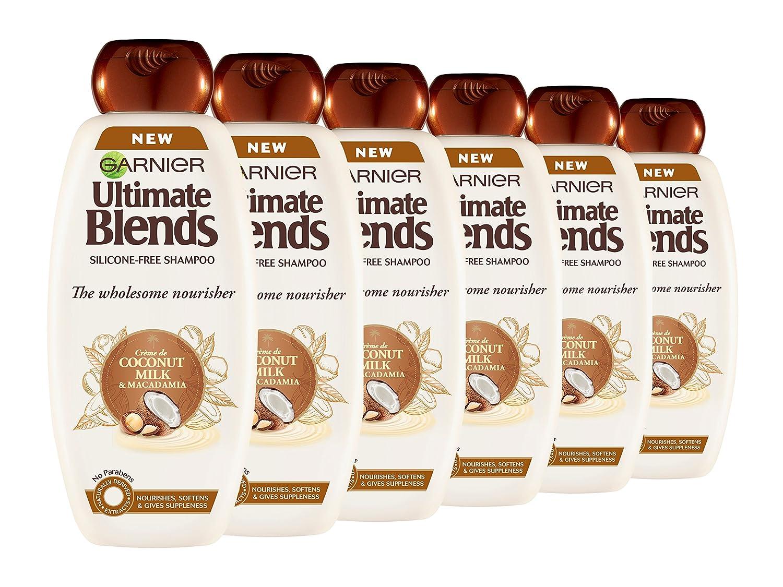 Mascarilla Garnier Ultimate Blends de leche de coco, tratamiento para cabello seco, 300 ml: Amazon.es: Belleza