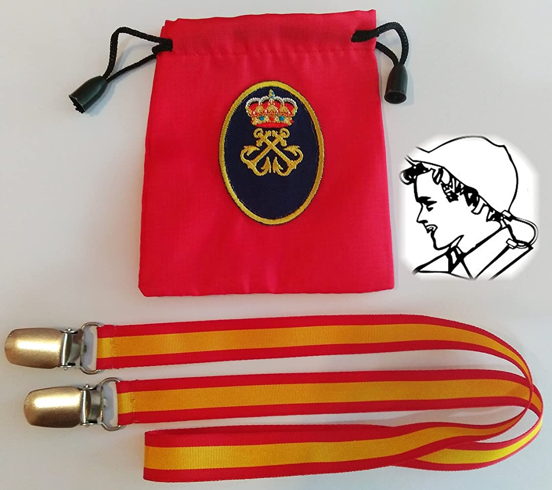 Gorra con Bandera España + Antivientos de Capitán de Yate (CY ...