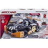 Meccano 6028127 - Evolution Sports Roadster Modello Radiocomandato, Pezzi in Metallo