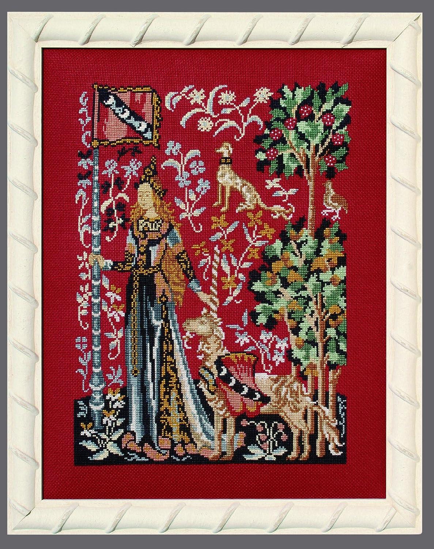 /Touch /la dama y el unicornio/ Princesse de punto de Kit de punto de cruz/ Le Toucher