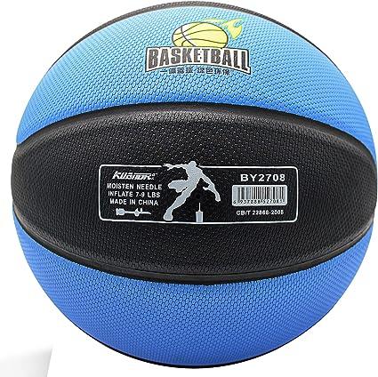 Caucho Baloncesto Tama/ño 7 con Bomba cwin Baloncesto Pelota Interior Al Aire Libre Utilizar