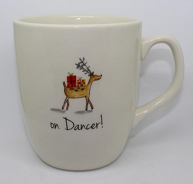 Reindeer Design Stag 2 Mug Set Boxed Mug Set Christmas Tableware Gifts