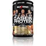 Six Star Pro Nutrition Casein Protein Powder, 100% Pure Casein, Triple Chocolate,  2.0 Pounds
