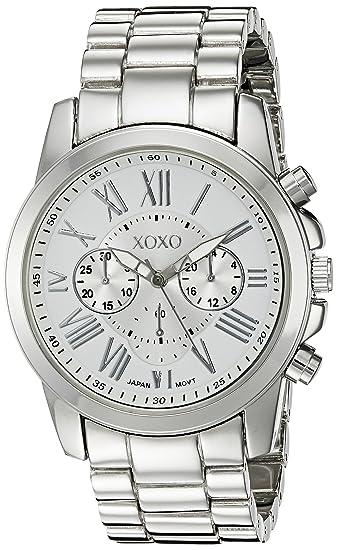 XOXO Womens XO227 Silver-Tone Watch