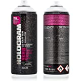 Montana Cans Montana Effect 400 ml Hologram Glitter Color, Clear Spray Paint
