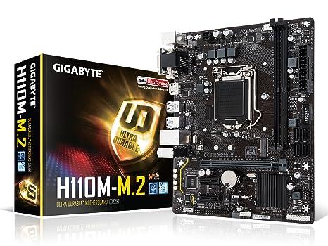 GIGABYTE GA-H110M-M 2 LGA1151 Intel H110 M 2 HDMI Micro ATX DDR4 Motherboard
