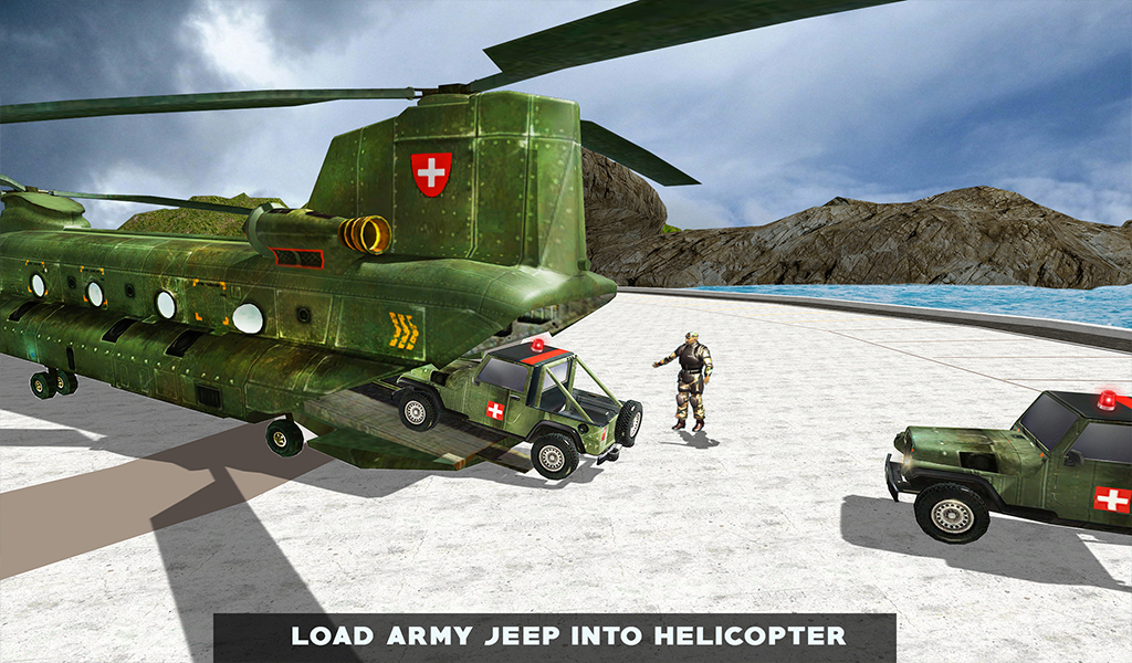 US Army Helicopter Rescue: Ambulance Driving Games: Amazon ...