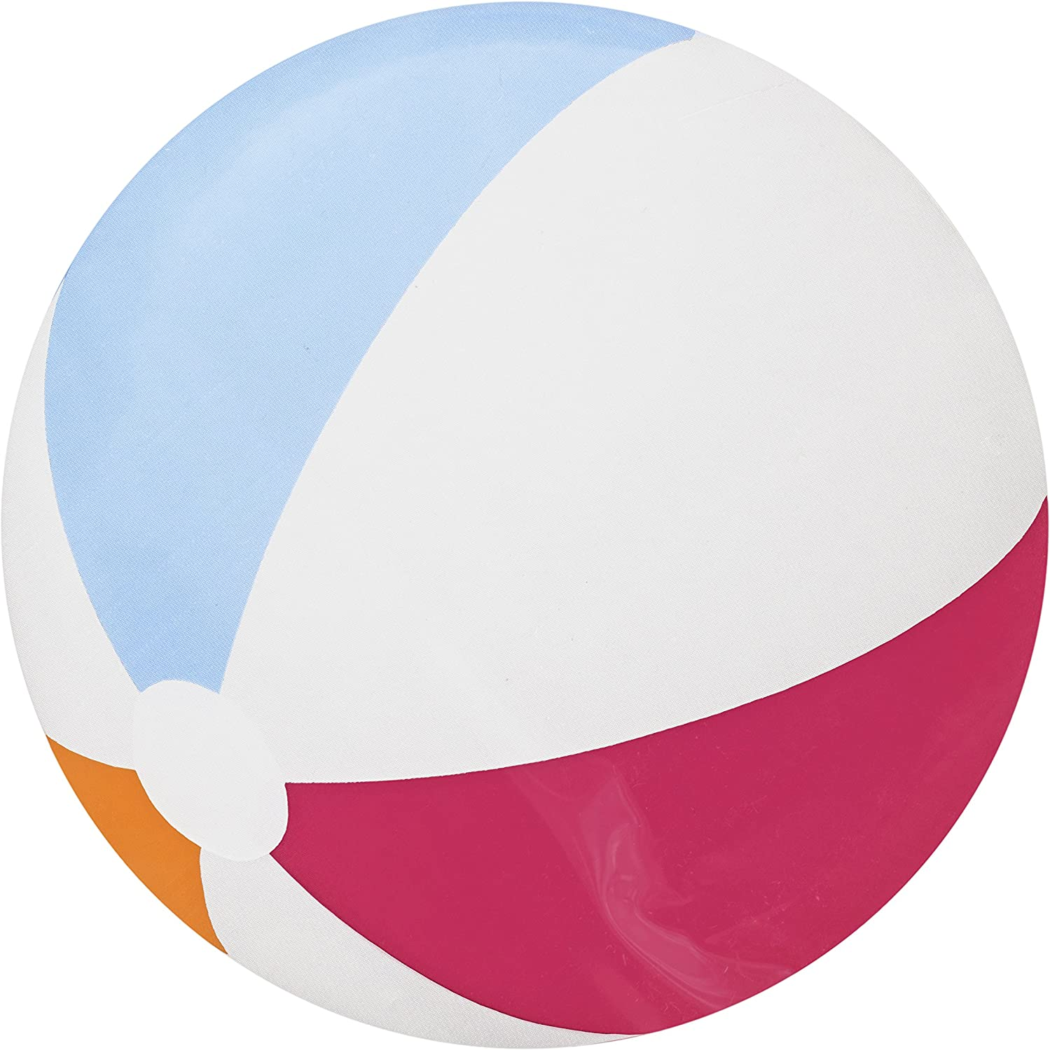 Black Duck Brand Set of 3 Inflatable 20 Diameter Beach Balls Safe to Play with Indoors! Perfect for Summer-time or Party Events