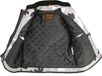 limited guantity clearance prices new high quality Homme Vêtements Veste gilet en textile Biker Camouflage ...