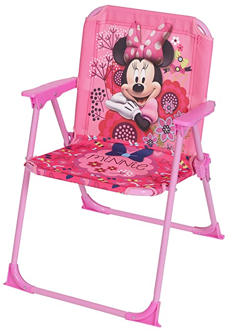 Pink Fold Up Chair #32 - Disney Designs Minnie Mouse Folding Chair With Material Finish, 52 X 37 X  35 Cm