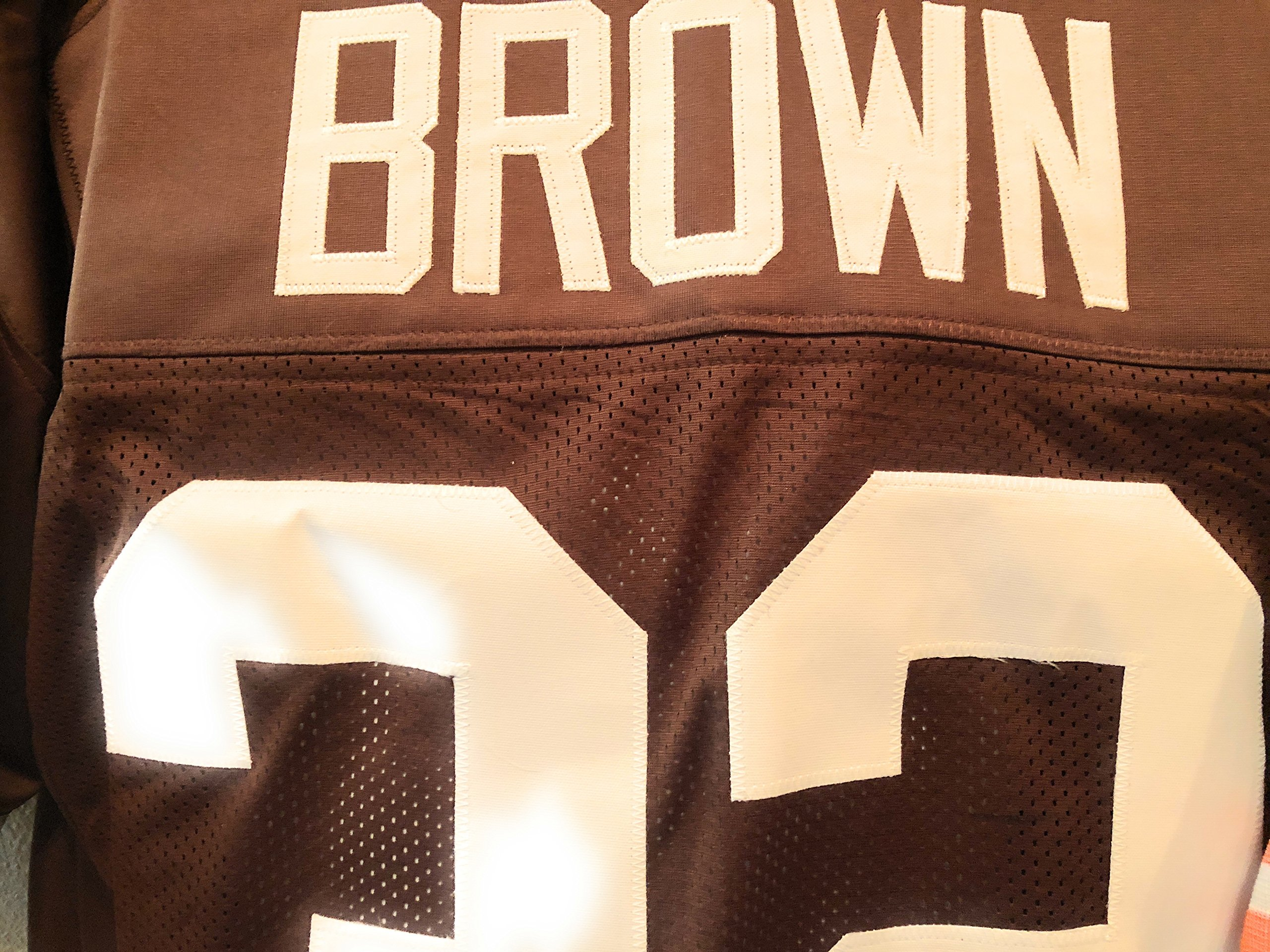 Jim Brown Cleveland Browns Signed Autograph Custom Jersey JSA Witnessed Certified