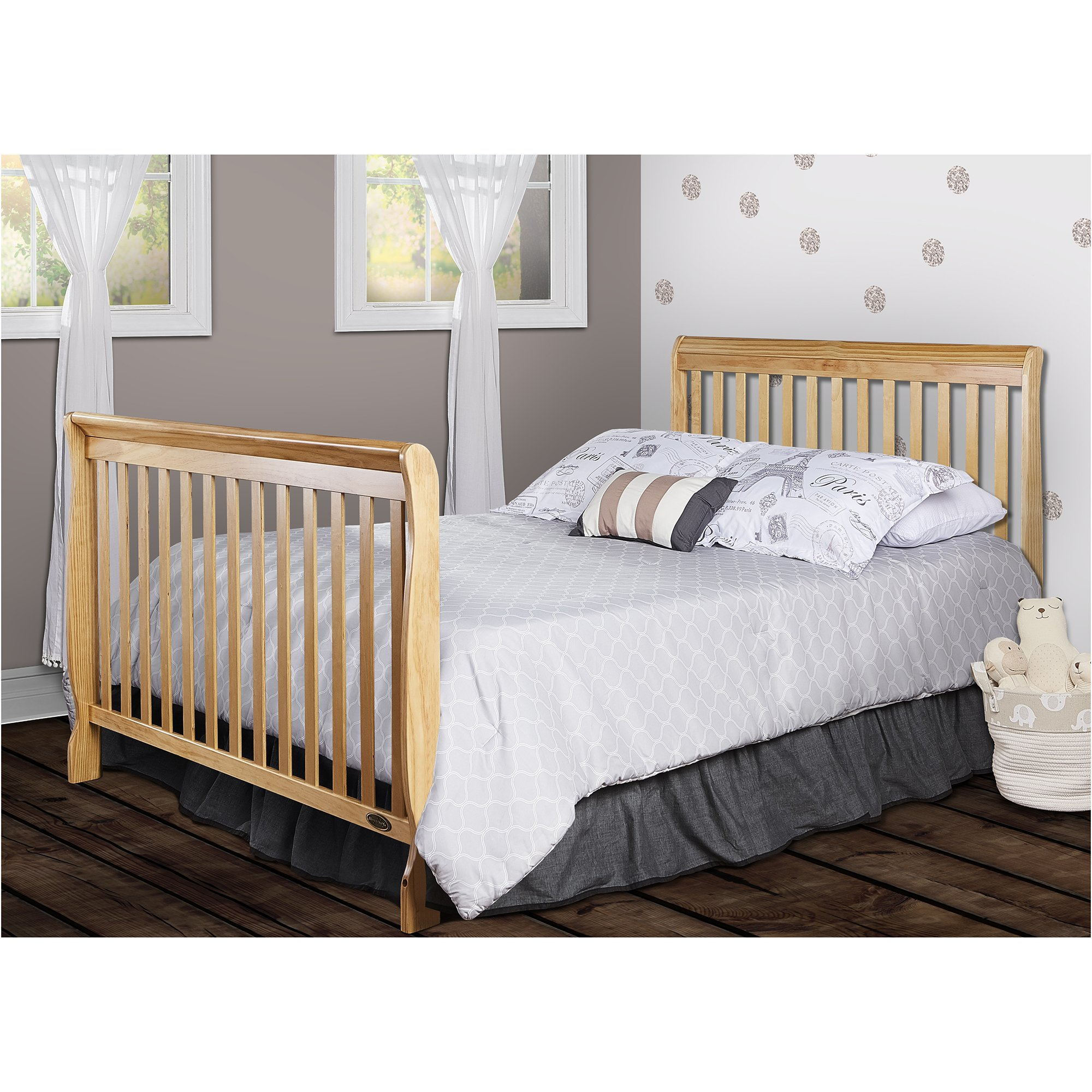 Dream On Me Ashton 5 in 1 Convertible Crib, Natural by Dream On Me (Image #8)