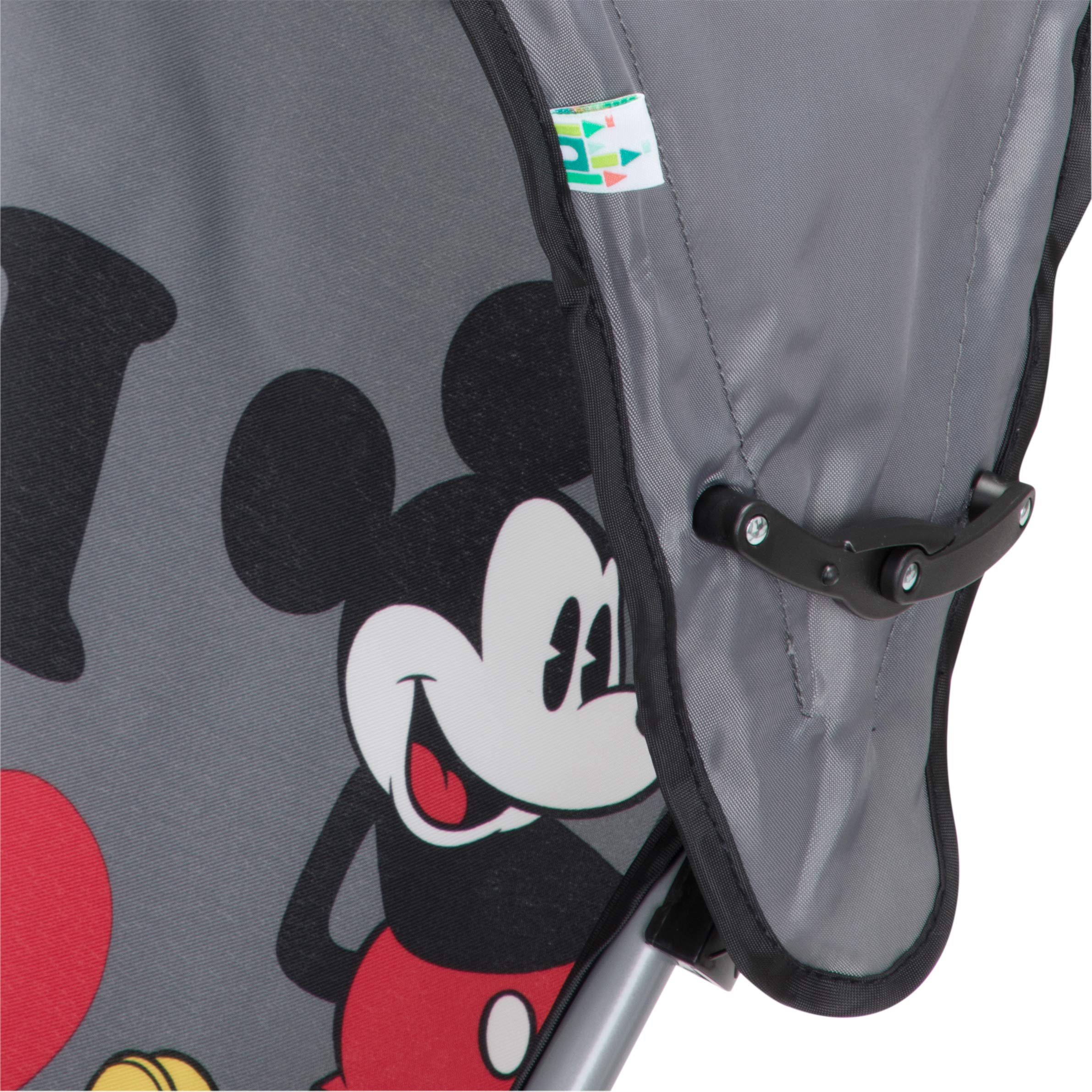Disney Umbrella Stroller with Canopy, I Heart Mickey by Disney (Image #5)