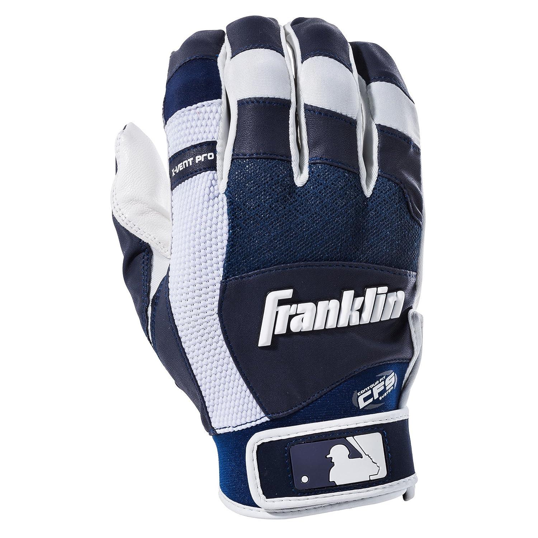 フランクリンスポーツMLB x-vent Pro Batting Gloves (ペア) B01ITQOBAQ XL|ホワイト/ネイビー ホワイト/ネイビー XL