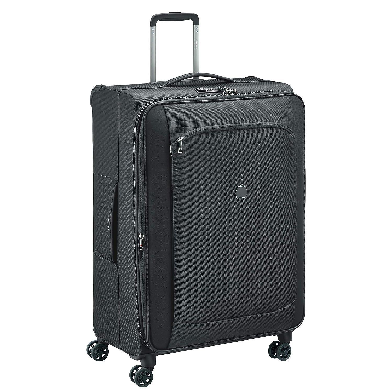 Delsey デルセー ソフトスーツケース 機内持ち込み sサイズ キャリーケース キャリーバッグ 小型 容量拡張可能 超軽量 MONTMARTRE AIR 2.0 5年国際保証 B07N3BN1CM 108L&ブラック
