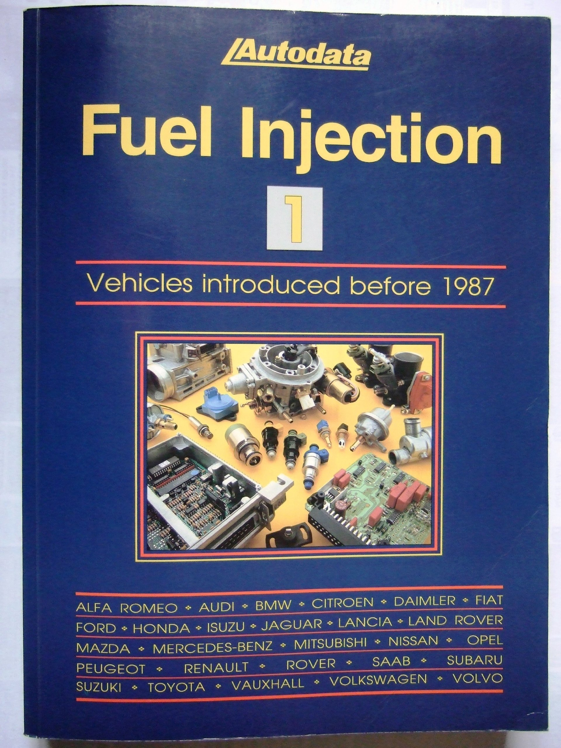 Fuel Injection 1 - Models Introduced before 1987 (Carburettor & fuel