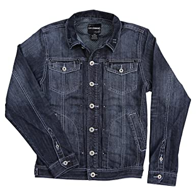5106de89bd83 5 Elementz Men's Denim Jean Jacket at Amazon Men's Clothing store: