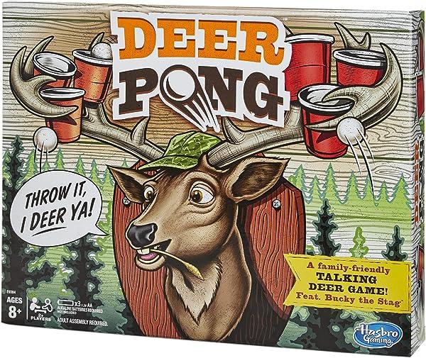 Deer Pong game for kids in package