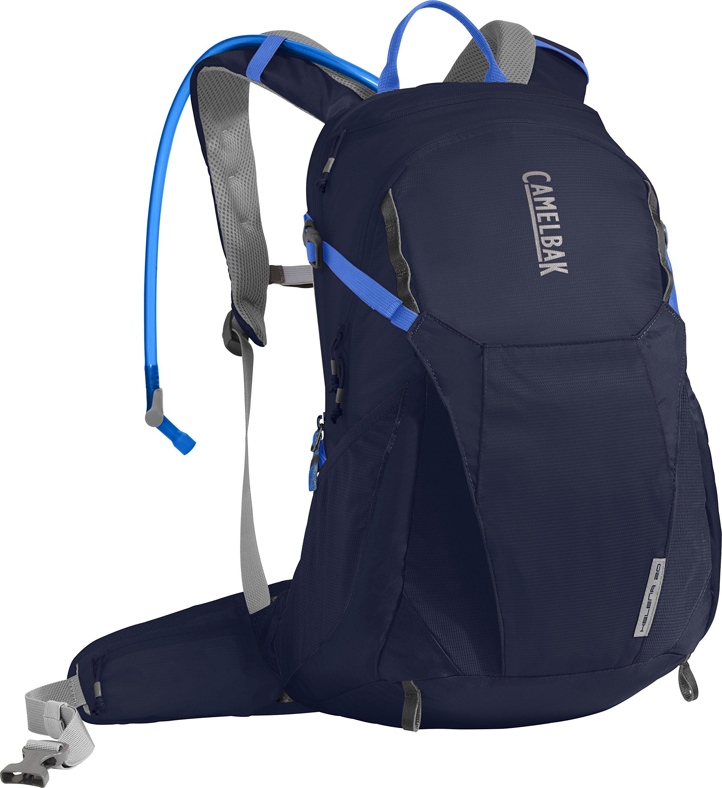 CamelBak Women's Helena 20 Crux Reservoir Hydration Pack, Navy Blazer/Amparo Blue, 2.5 L/85 oz by CamelBak
