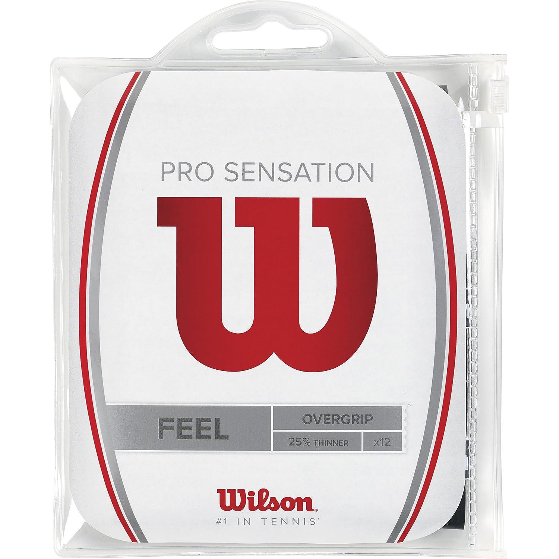 Wilson Pro OG Sensation 12pk Overgrips Raqueta-Unisex, Adulto: Amazon.es: Deportes y aire libre