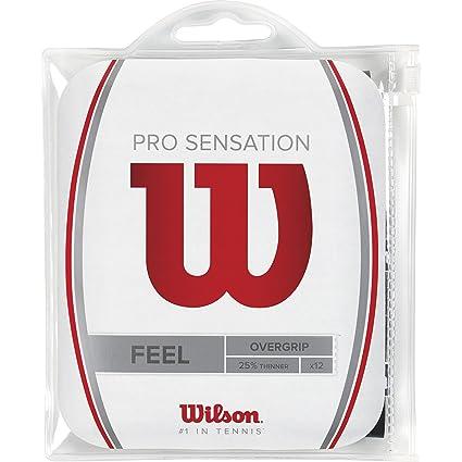 Wilson Pro Overgrip Sensation Empuñadura, Unisex