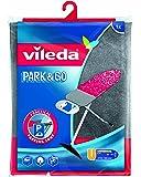 Vileda Viva Express Park+Go - Funda universal para tabla de planchar adaptable a diferentes tamaños