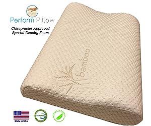 Medium Profile Memory Foam Neck Pillow