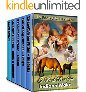 5 Book Box Set The Brides Of Russets Reach